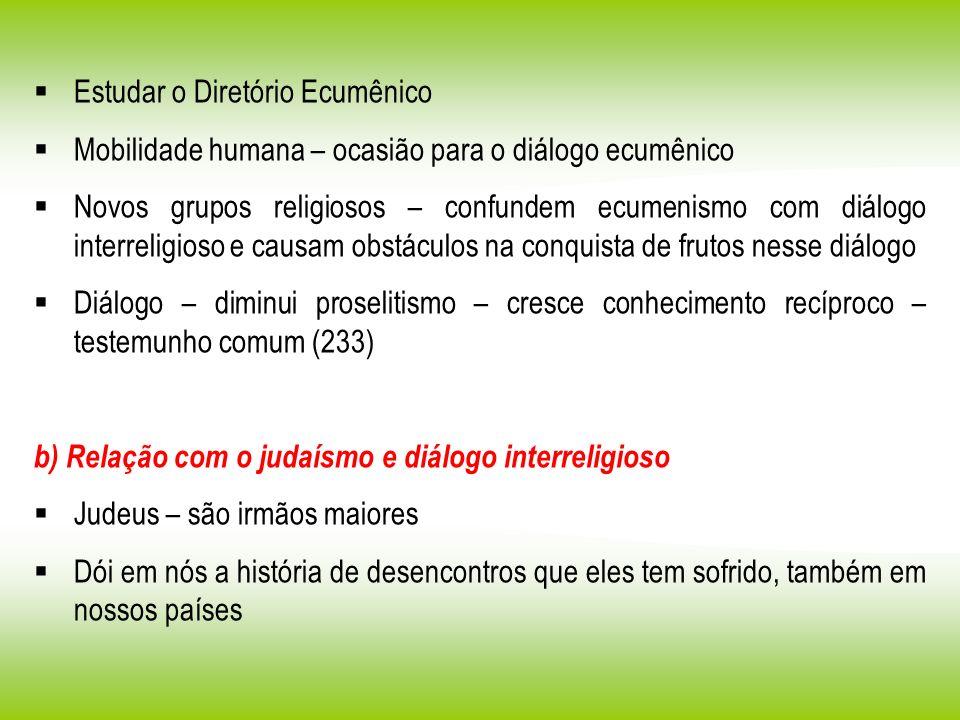 Estudar o Diretório Ecumênico