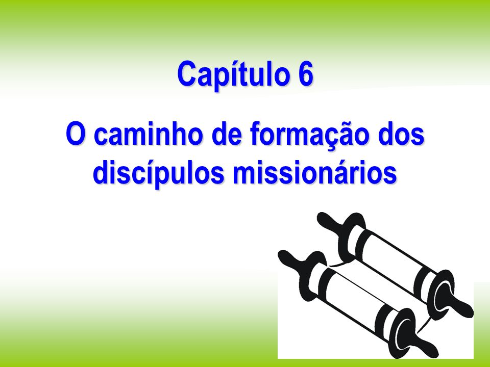 O caminho de formação dos discípulos missionários