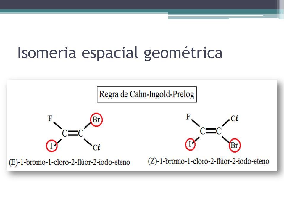 Isomeria espacial geométrica
