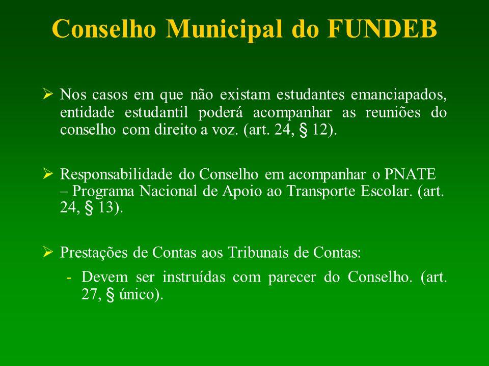 Conselho Municipal do FUNDEB