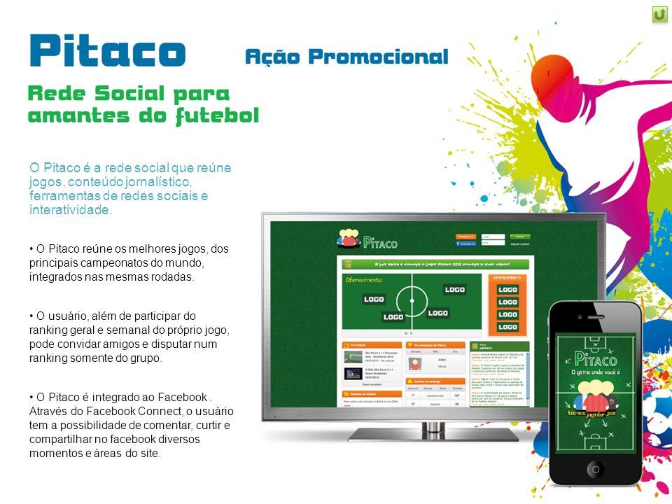O Pitaco é a rede social que reúne jogos, conteúdo jornalístico, ferramentas de redes sociais e interatividade.