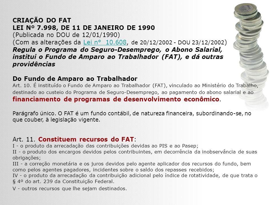 (Com as alterações da Lei n° 10.608, de 20/12/2002 - DOU 23/12/2002)