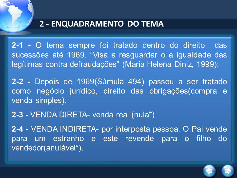 2 - ENQUADRAMENTO DO TEMA
