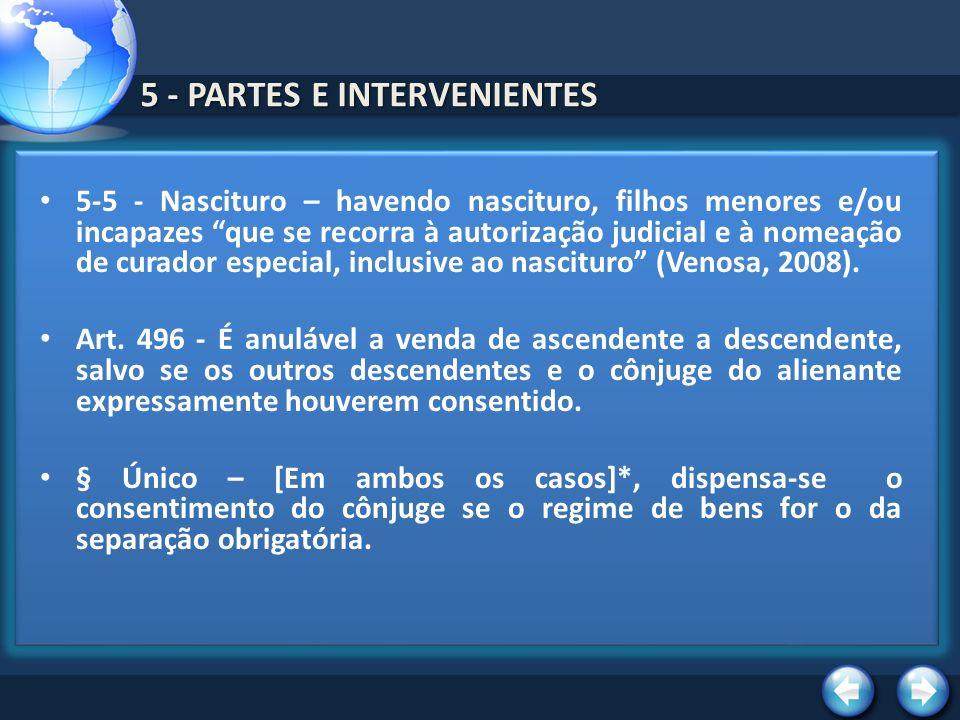 5 - PARTES E INTERVENIENTES