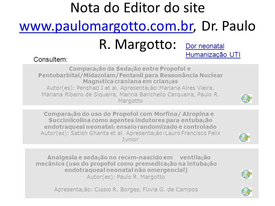 Apresentação: Cássio R. Borges, Flávia G. de Campos