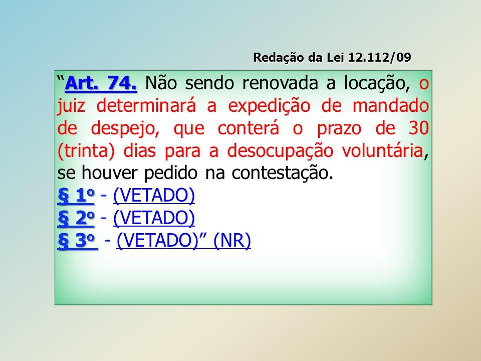 Redação da Lei 12.112/09