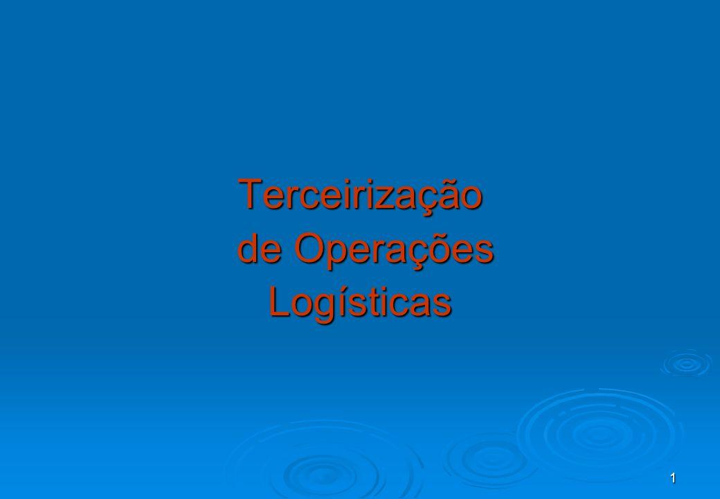 Terceirização de Operações Logísticas