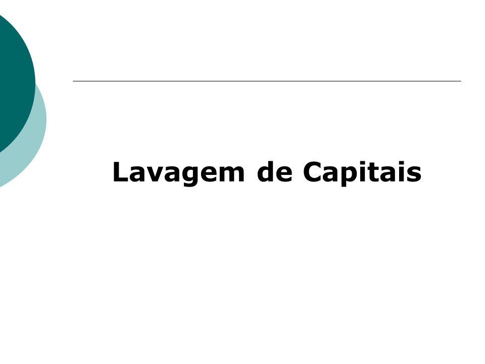Lavagem de Capitais