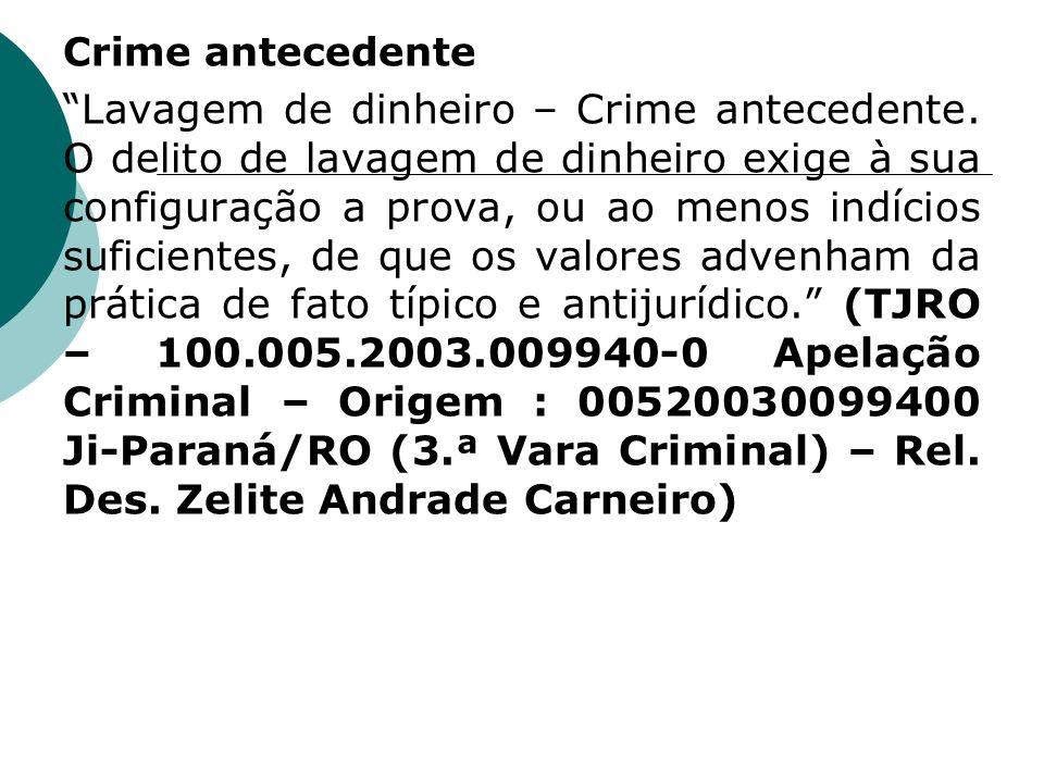 Crime antecedente