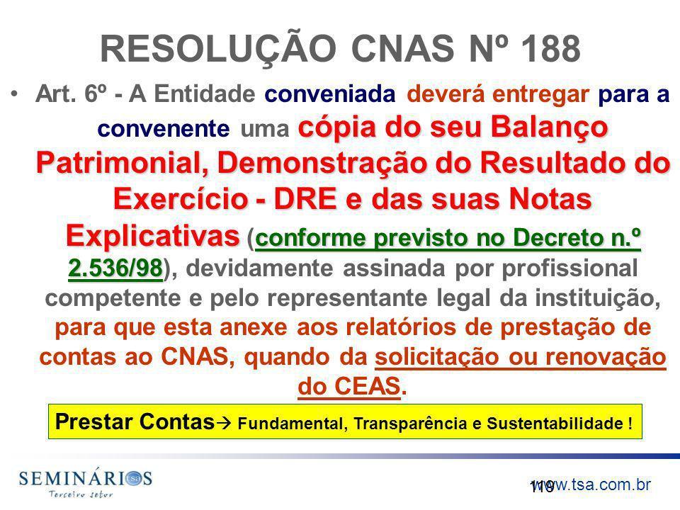 RESOLUÇÃO CNAS Nº 188