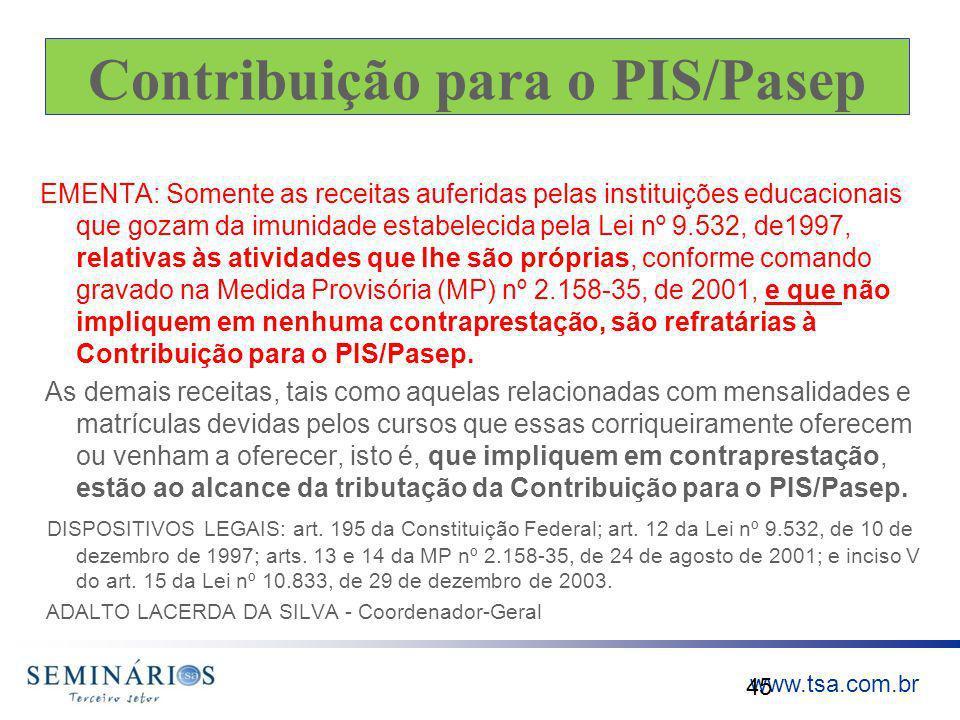Contribuição para o PIS/Pasep