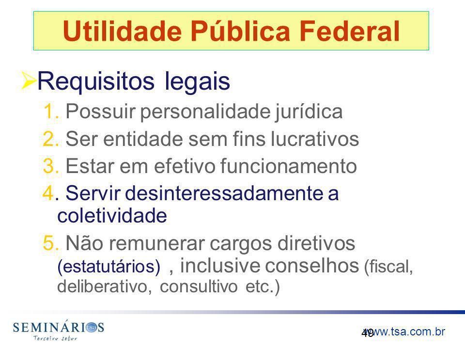 Utilidade Pública Federal