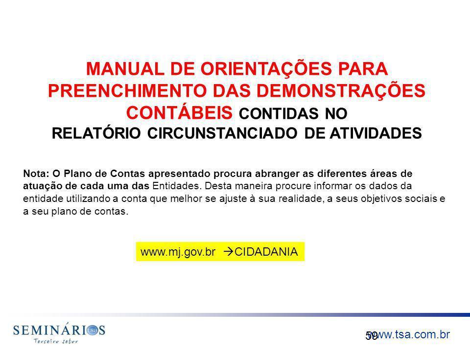 RELATÓRIO CIRCUNSTANCIADO DE ATIVIDADES