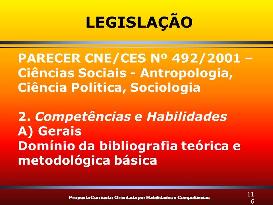 LEGISLAÇÃO PARECER CNE/CES Nº 492/2001 –