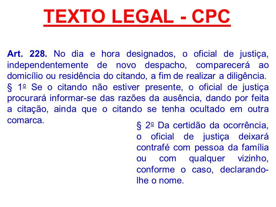 TEXTO LEGAL - CPC