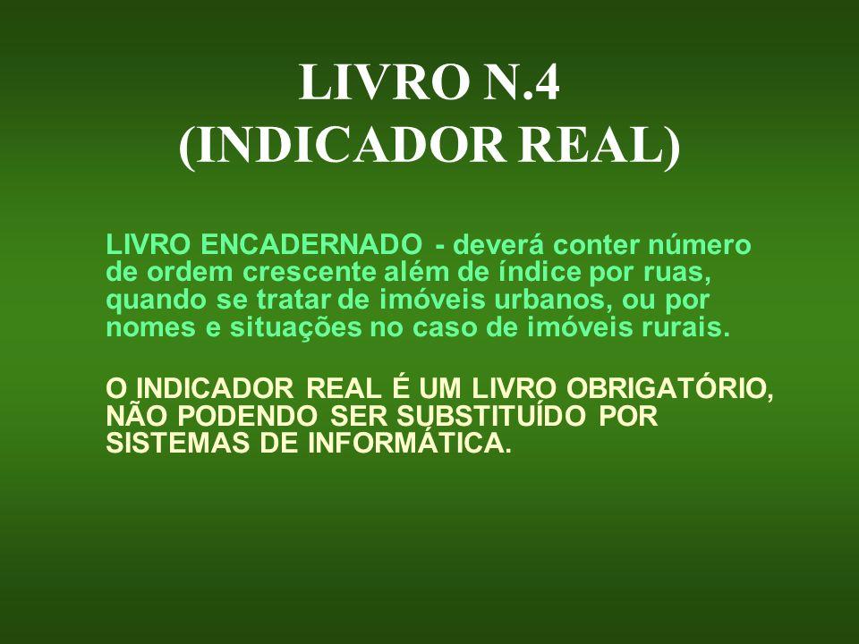 LIVRO N.4 (INDICADOR REAL)
