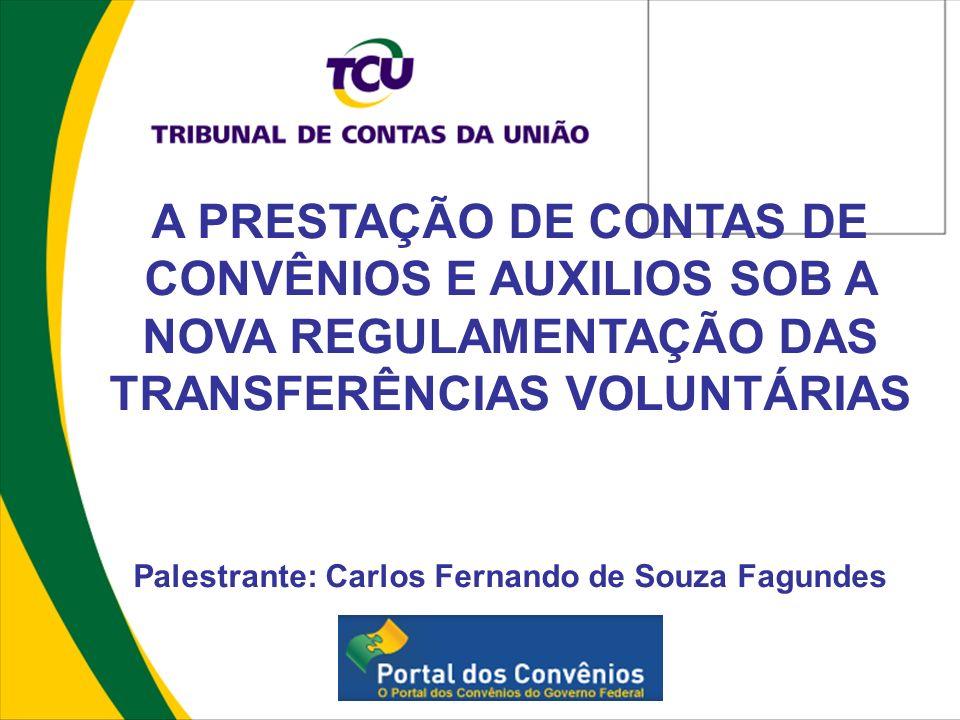 Palestrante: Carlos Fernando de Souza Fagundes