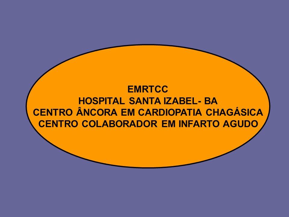 HOSPITAL SANTA IZABEL- BA CENTRO ÂNCORA EM CARDIOPATIA CHAGÁSICA