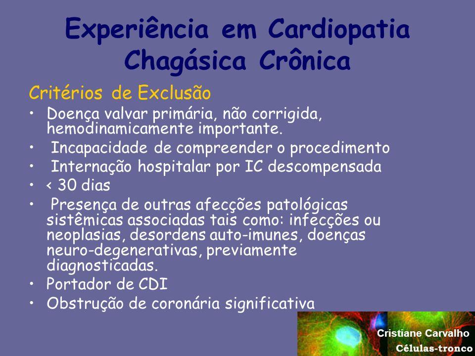 Experiência em Cardiopatia Chagásica Crônica