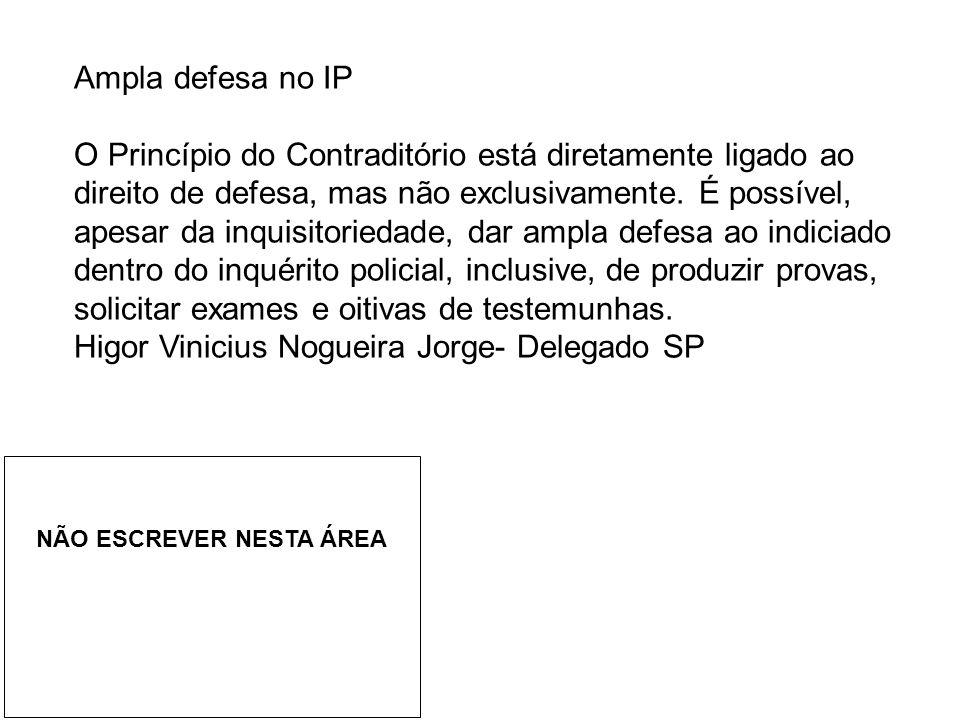 Higor Vinicius Nogueira Jorge- Delegado SP