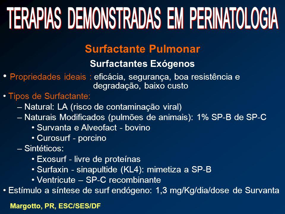 Surfactantes Exógenos