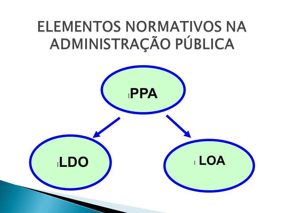 ELEMENTOS NORMATIVOS NA ADMINISTRAÇÃO PÚBLICA
