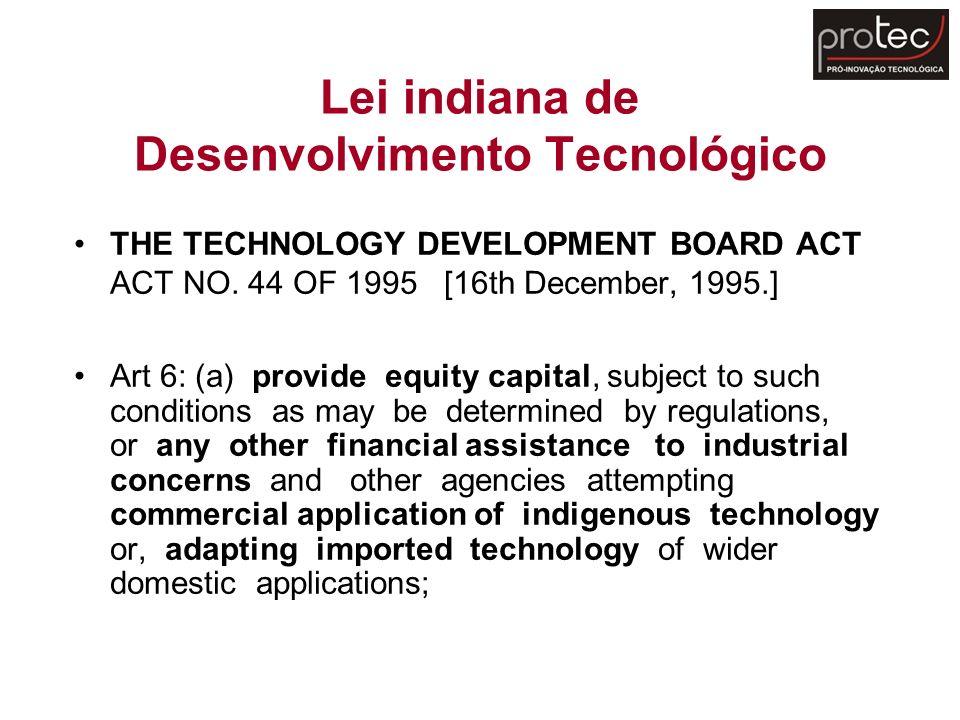 Lei indiana de Desenvolvimento Tecnológico
