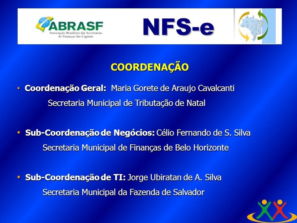 COORDENAÇÃO A Coordenação Geral: Maria Gorete de Araujo Cavalcanti