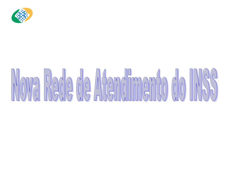 Nova Rede de Atendimento do INSS