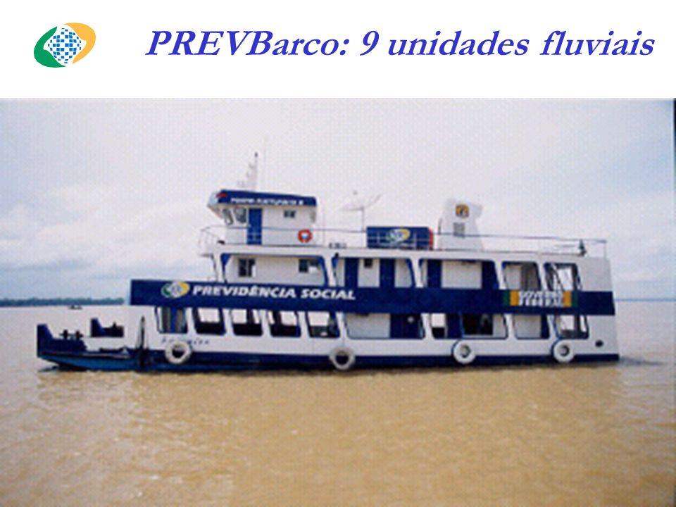 PREVBarco: 9 unidades fluviais