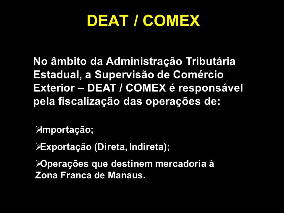 DEAT / COMEX