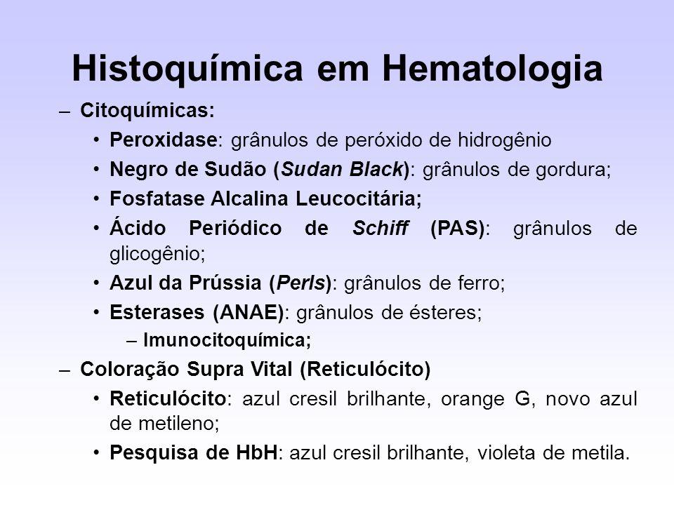 Histoquímica em Hematologia