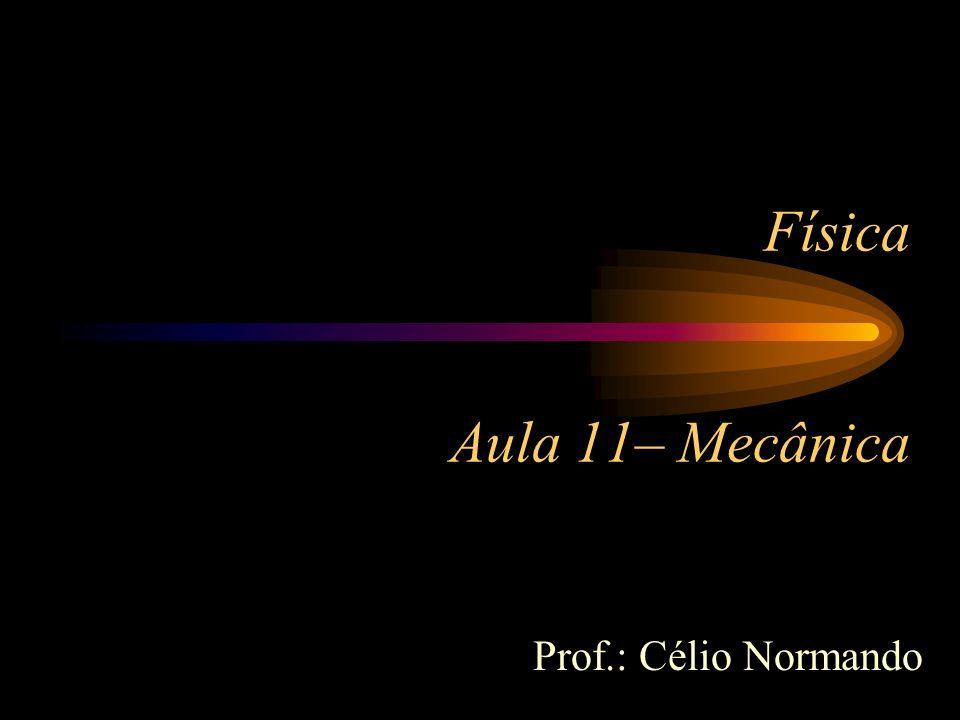 Física Aula 11– Mecânica Prof.: Célio Normando