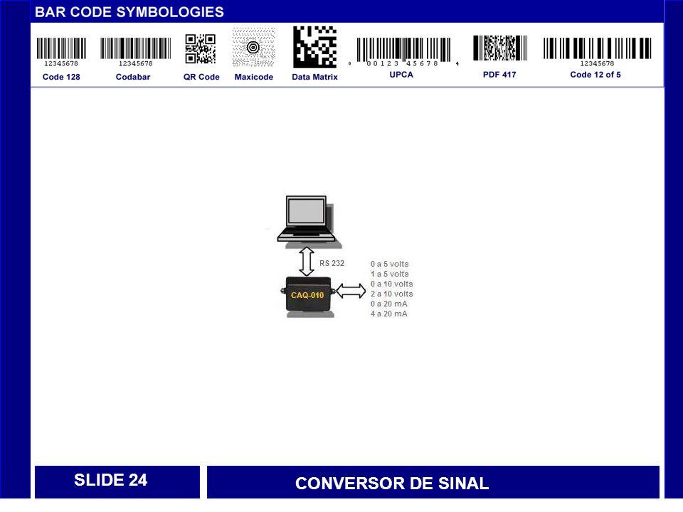 SLIDE 24 CONVERSOR DE SINAL