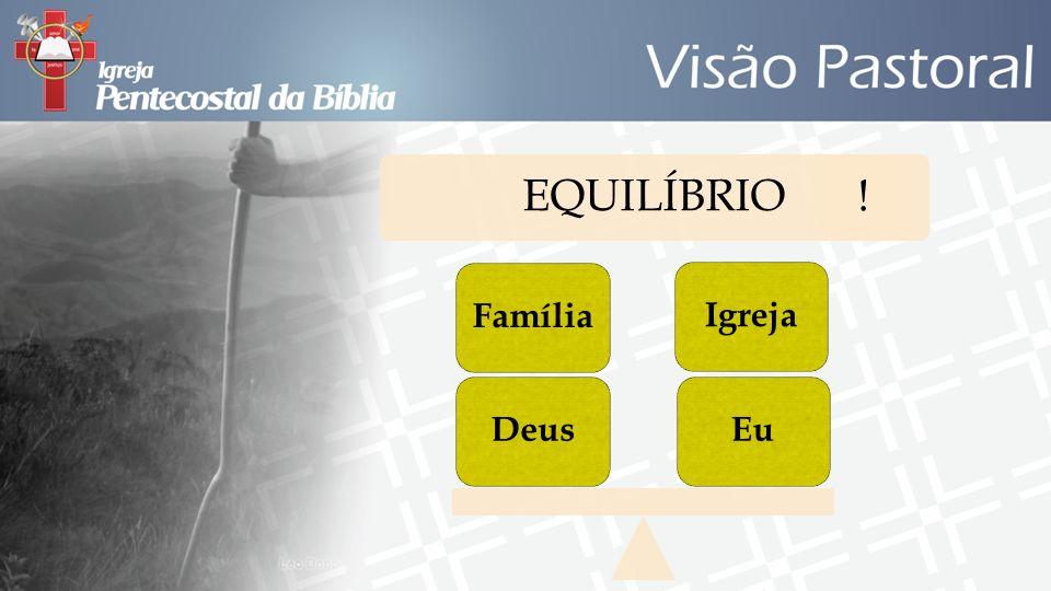 EQUILÍBRIO ! Eu Igreja Deus Família