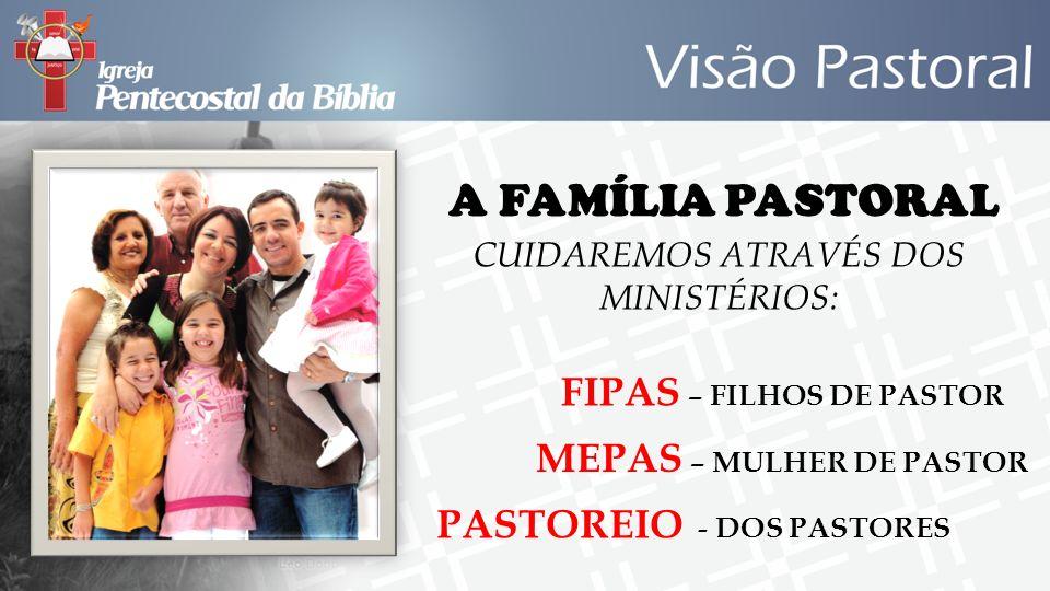 CUIDAREMOS ATRAVÉS DOS MINISTÉRIOS: