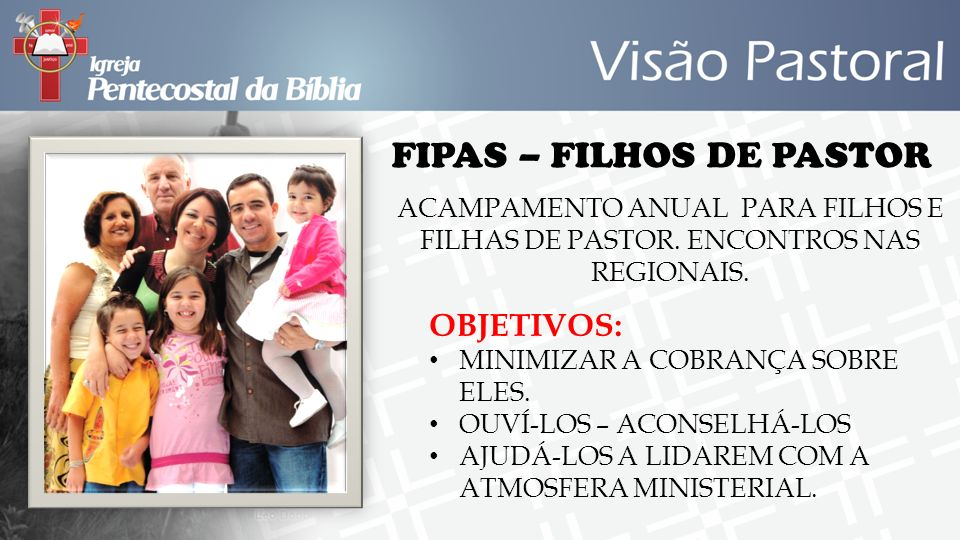 FIPAS – FILHOS DE PASTOR