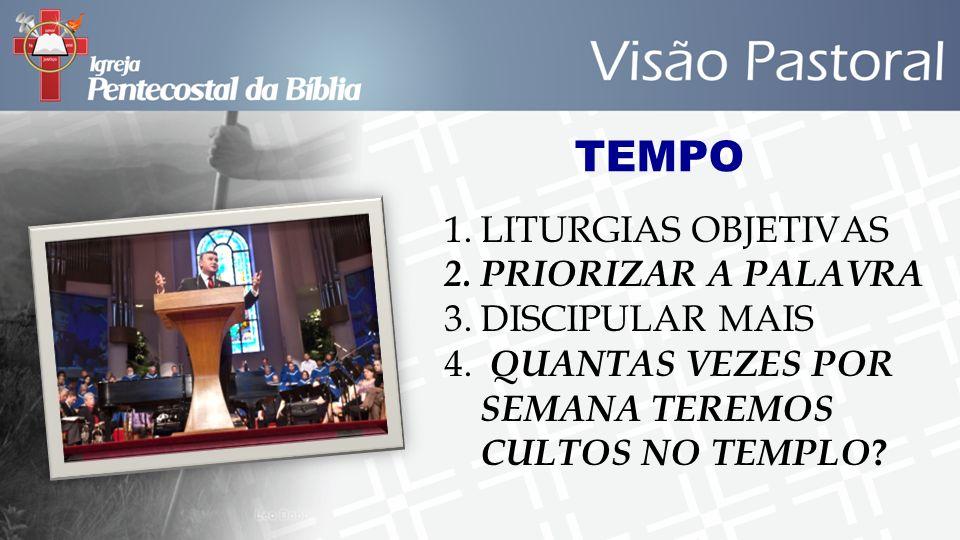 TEMPO LITURGIAS OBJETIVAS PRIORIZAR A PALAVRA DISCIPULAR MAIS