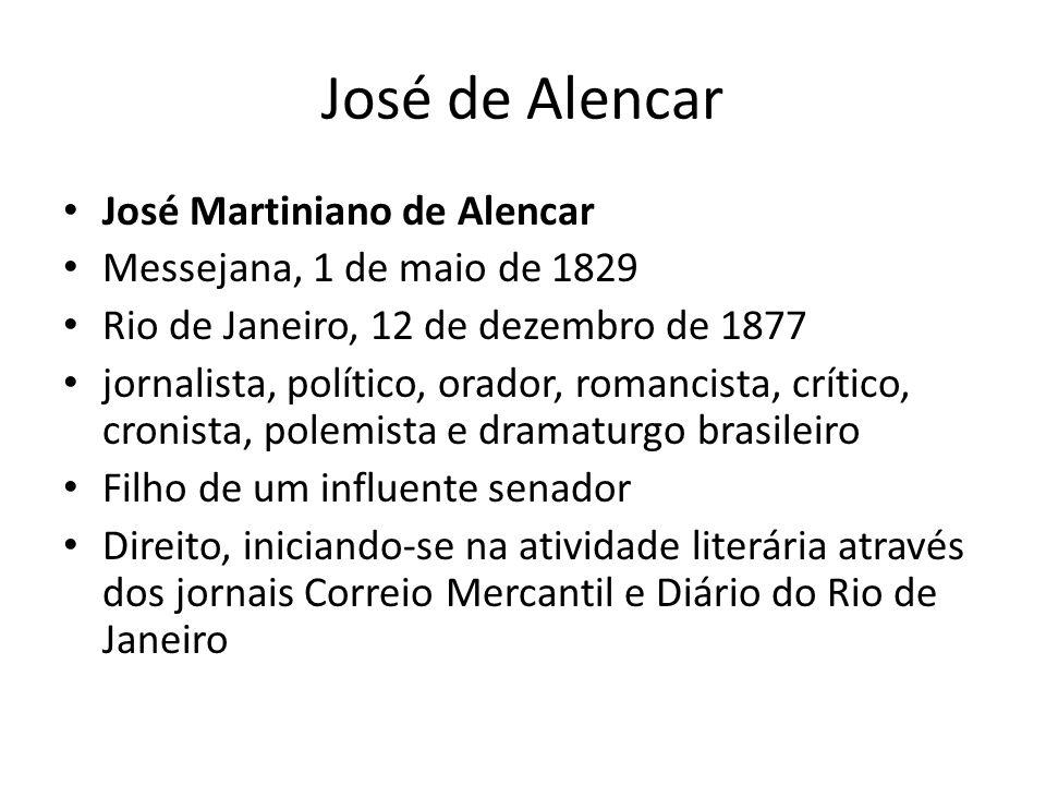 José de Alencar José Martiniano de Alencar