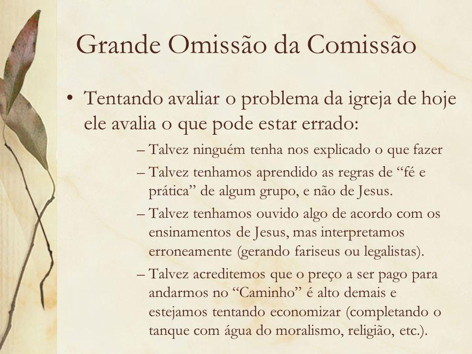 Grande Omissão da Comissão