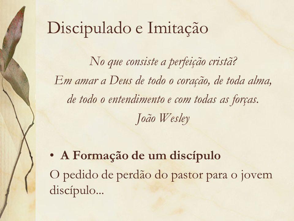 Discipulado e Imitação