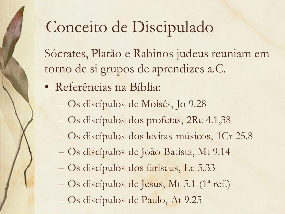 Conceito de Discipulado