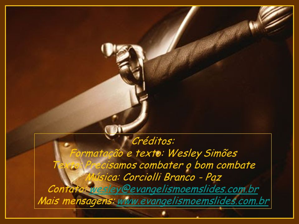 Formatação e texto: Wesley Simões