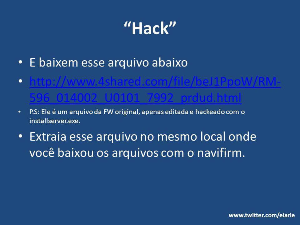 Hack E baixem esse arquivo abaixo