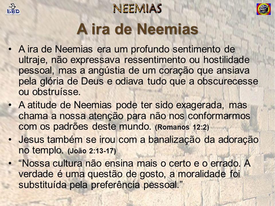 A ira de Neemias