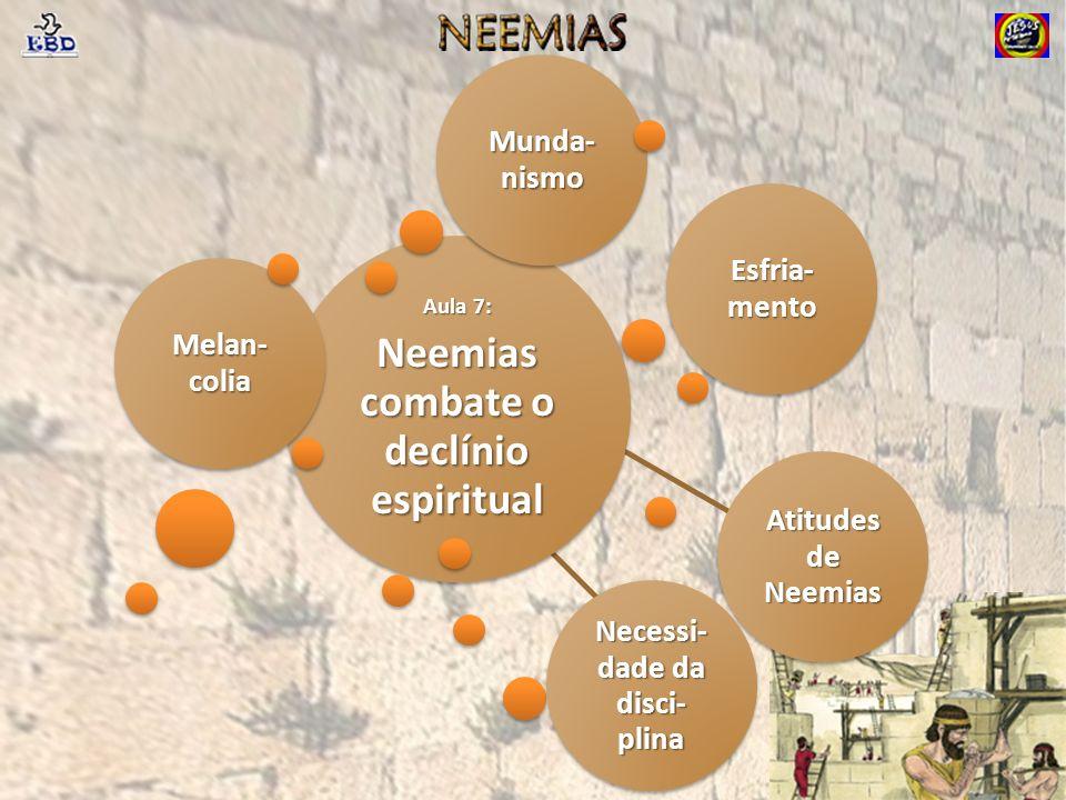 Neemias combate o declínio espiritual Necessi-dade da disci-plina