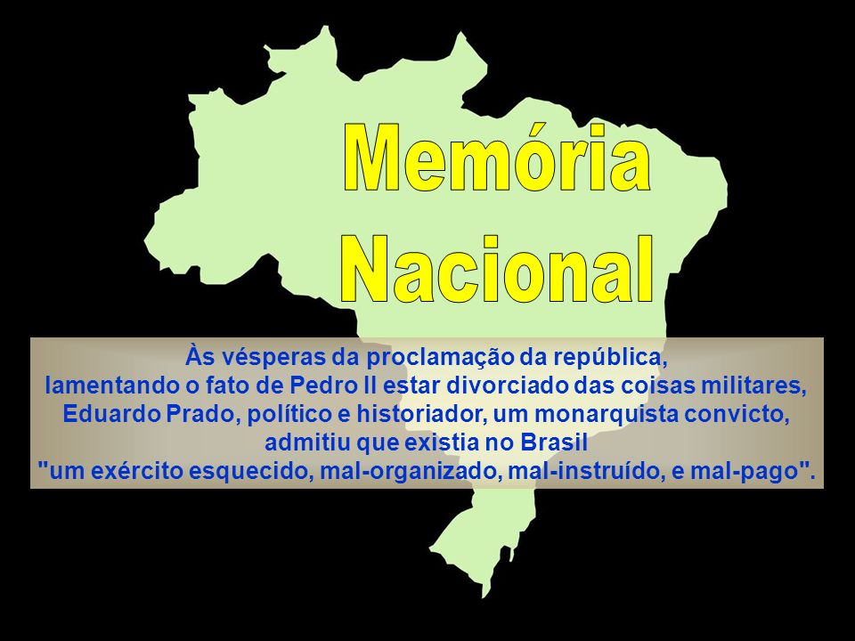 Memória Nacional.