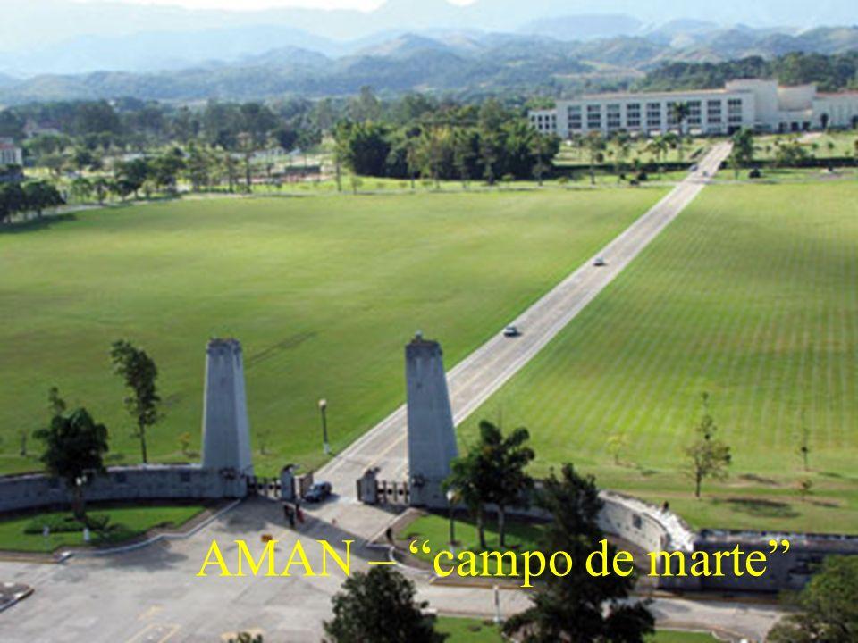 AMAN – campo de marte
