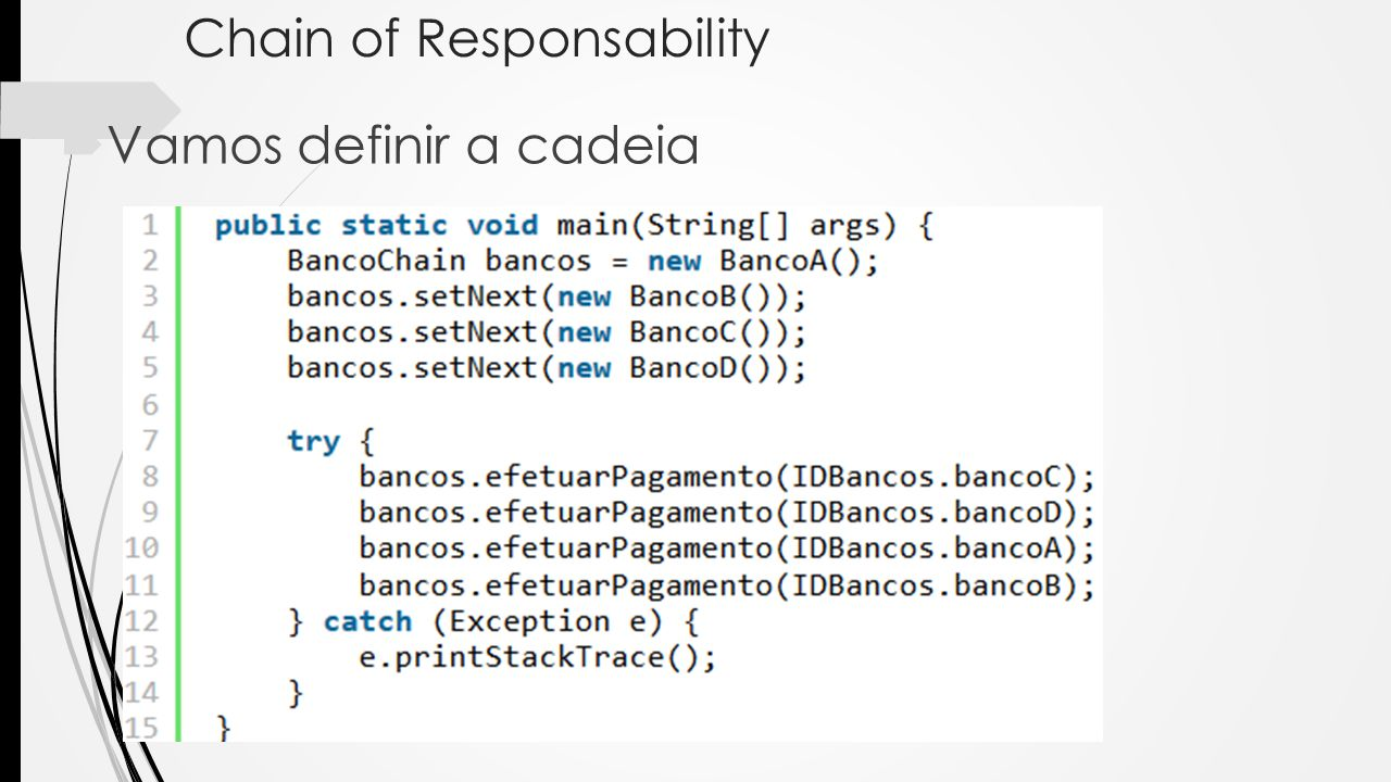 Chain of Responsability