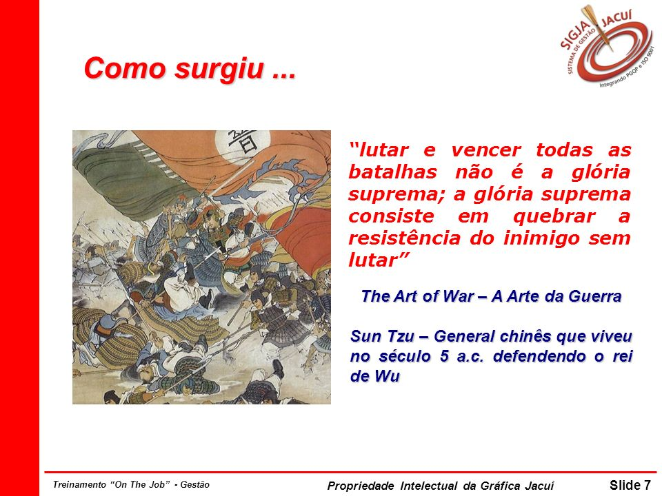 The Art of War – A Arte da Guerra
